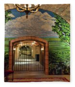 Napa Valley Inglenook Vineyard -7 Fleece Blanket