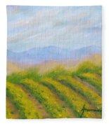 Valley Vineyard Fleece Blanket
