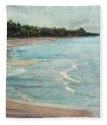 Naples Beach Fleece Blanket