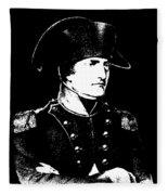 Napoleon Bonaparte Fleece Blanket