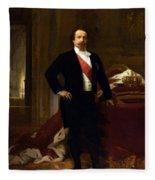 Napoleon IIi 1808 73 Fleece Blanket