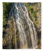 Narada Falls Rainbow Fleece Blanket