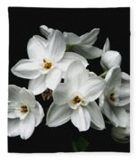 Narcissus The Breath Of Spring Fleece Blanket