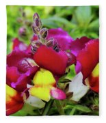 Nascent Blossoms  Fleece Blanket