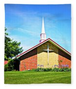 Nashville Baptist Church Fleece Blanket