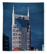 Nashville Landmarks Fleece Blanket
