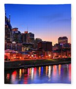Nashville Southern Nights Fleece Blanket