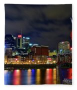 Nashvilles Ghost Ballet Fleece Blanket