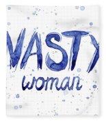 Nasty Woman Such A Nasty Woman Art Fleece Blanket