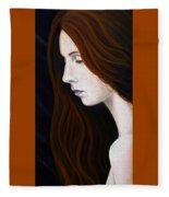 Nastya Fleece Blanket