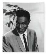Nat King Cole Fleece Blanket