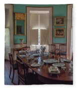 Nathaniel Russell Dining Room Fleece Blanket