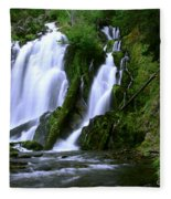 National Creek Falls 02 Fleece Blanket