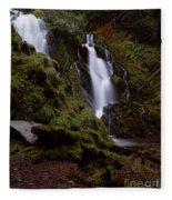 National Creek Falls 04 Fleece Blanket