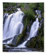 National Creek Falls 09 Fleece Blanket