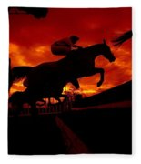 National Hunt, Ireland Fleece Blanket