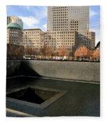 National September 11 Memorial New York City Fleece Blanket