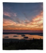 National Sunrise Fleece Blanket