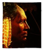 Potawatomi Chief Fleece Blanket