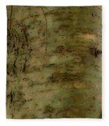 Native Tree Fleece Blanket