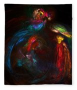 Nativity  Fleece Blanket