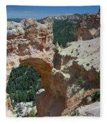 Natural Arch Bryce Canyon - Utah Fleece Blanket
