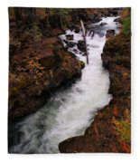 Natural Bridge Gorge Fleece Blanket