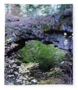 Natural Bridge Two   Fleece Blanket