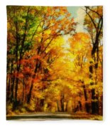 Natural Cathedral Fleece Blanket