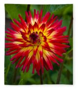 Natural Fireworks Fleece Blanket
