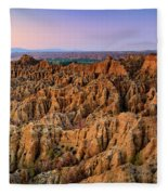 Natural Monument Carcavas Del Marchal II Fleece Blanket