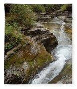 Natural Waterslide Fleece Blanket