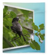 Nature Bird Fleece Blanket