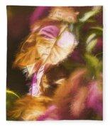 Nature Pastel Artwork Fleece Blanket