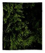 Nature Plants Fleece Blanket