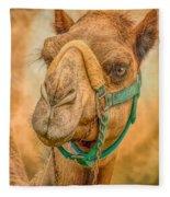 Nature Wear Camel Fleece Blanket