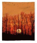 Nature's Altar Fleece Blanket