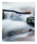 Natures Balance - White Water Rapids Fleece Blanket