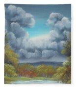 Nature's Carnival Fleece Blanket