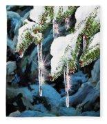 Nature's Decorations Fleece Blanket