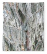 Natures Drapery At Okefenokee Swamp Fleece Blanket