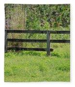 Natures Fence Fleece Blanket