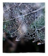 Nature's Lace Fleece Blanket