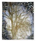 Natures Looking Glass 4 Fleece Blanket
