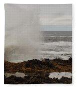 Nature's Power Fleece Blanket