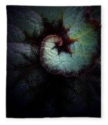 Nature's Rex Begonia Fleece Blanket