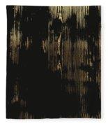 Nature's Secret Code - The Wood Grain Message #3 Fleece Blanket