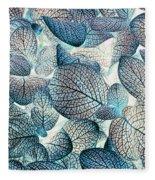 Nature's Tracery Fleece Blanket