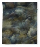 Natures Watching You Fleece Blanket