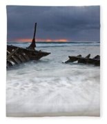 Nautical Skeleton Fleece Blanket